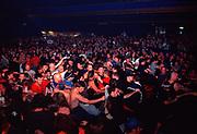 Hardcore / Metal crowd. Stampin ground @ The Forum, Kentish town, London, U.K, 2004.