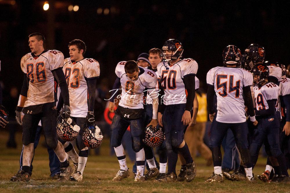 MCHS Varsity Football .vs Clarke Eagles .Clarke 47, Madison 7  .11/13/09