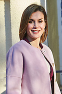 011216 Queen Letizia attends a Meeting with the Foundation for Help Against Drug Addiction
