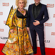 NLD/Rotterdam/20200308 - Premiere Hello Dolly, Karin Bloemen en Richard Groenendijk