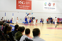 A general view of SGS Wise arena as Bristol Flyers play Plymouth Raiders in the BBL - Mandatory byline: Dougie Allward/JMP - 11/12/2015 - Basketball - SGS Wise Campus - Bristol, England - Bristol Flyers v Plymouth Raiders - British Basketball League