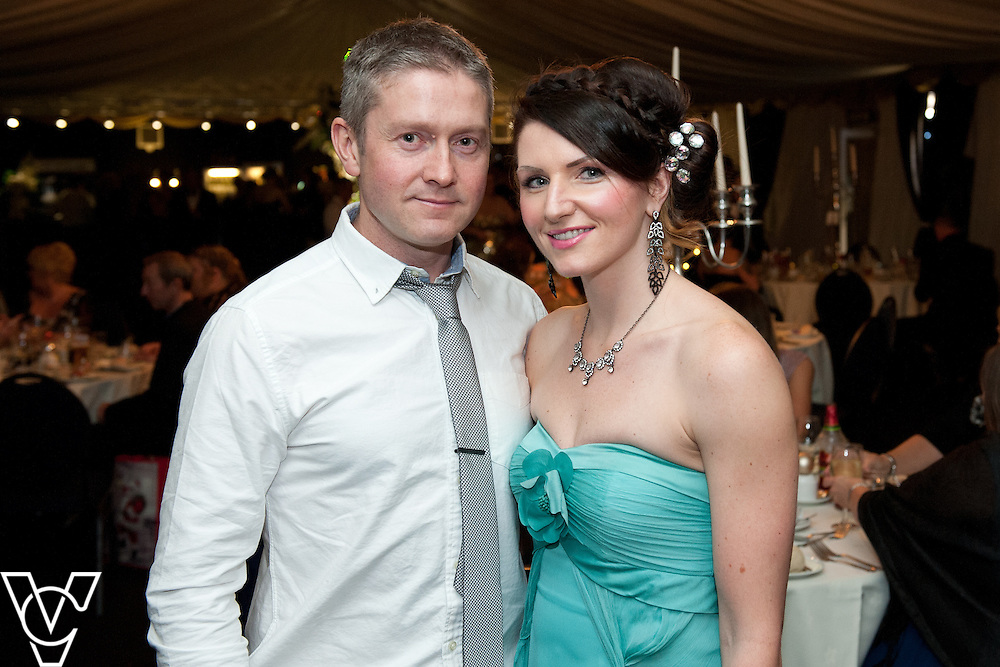 Lincoln Journal society pictures: Pictured is Mark and Rachel Parkin-Coates<br /> <br /> An annual ball, this year themed the Bauble Ball, has taken place at Jocastas, to raise money for the Lincoln St Christopher's School.<br /> <br /> Date: November 28, 2015<br /> Picture: Chris Vaughan/Chris Vaughan Photography