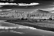 Ogilvie River and the Richardson Mountains along the Dempster<br />Dempster Highway<br />Northwest Territories<br />Canada