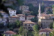 SAFRANBOLU, TURKEY AUGUST 2003. The city of Safranbolu positioned in the forests on the Black Sea coast is one of the world heritage sites of the UNESCO. Apart from its Ottoman era wood and mudbrick houses it is also known for its 'Lokum' or Turkish delight. A delicate sweets with flavours from nuts to rose petals. Photo by Frits Meyst/Adventure4ever.com