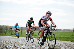 Agnieszka Skalniak (POL) at Brabantse Pijl 2018, a 136.8 km road race starting and finishing in Gooik on April 11, 2018. Photo by Sean Robinson/Velofocus.com