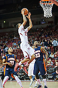 FAYETTEVILLE, AR - DECEMBER 19:  Rashad Madden #00 of the Arkansas Razorbacks goes up for a layup against the UT Martin Skyhawks at Bud Walton Arena on December 19, 2013 in Fayetteville, Arkansas.  The Razorbacks defeated the Skyhawks 102-56.  (Photo by Wesley Hitt/Getty Images) *** Local Caption *** Rashad Madden