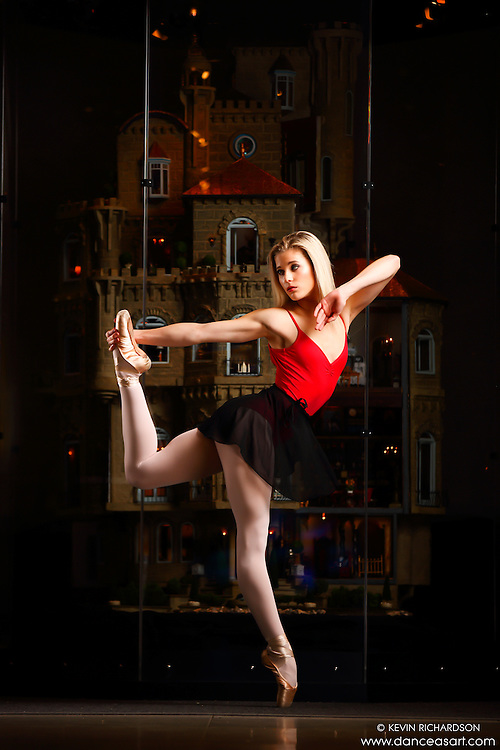 Dance As Art New York City Photography Project Astolat Castle Series with dancer, Erika Citrin