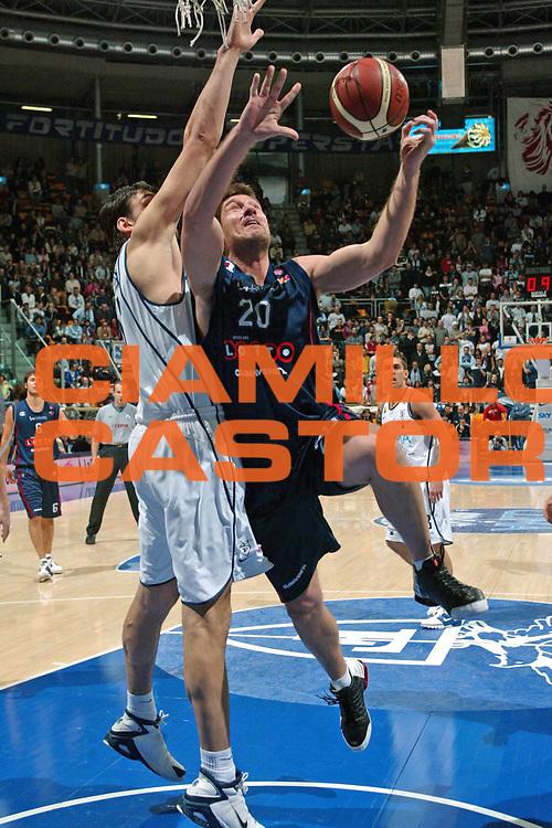 DESCRIZIONE : BOLOGNA CAMPIONATO LEGA A1 2004-2005 <br /> GIOCATORE : TUSEK <br /> SQUADRA : LOTTOMATICA VIRTUS ROMA <br /> EVENTO : CAMPIONATO LEGA A1 2004-2005 <br /> GARA : CLIMAMIO BOLOGNA-LOTTOMATICA ROMA <br /> DATA : 30/01/2005 <br /> CATEGORIA : Tiro <br /> SPORT : Pallacanestro <br /> AUTORE : Agenzia Ciamillo-Castoria/G.Livaldi