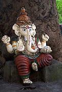 Sri Lanka. Ganesh shrine by Wijeyratna near Ulagalla off A9 road, just south of Tirappane. 2006