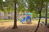 Architectural photography of Windsor Park Apartments in Woodbridge VA by Jeffrey Sauers of Commercial Photographics.