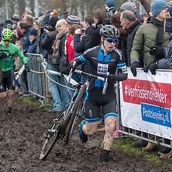 14-01-2018: Wielrennen: NK Veldrijden: Surhuisterveen <br />Kelvin Bakx