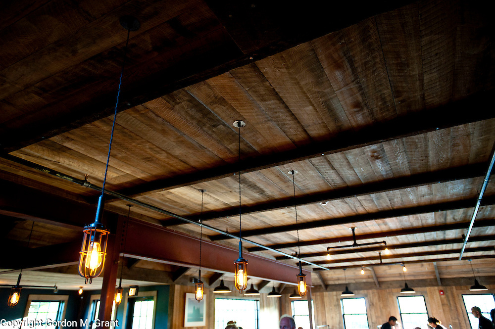 Interior of the Southfork Kitchen restaurant on the Bridgehampton / Sag Harbor Turnpike in Bridgehampton. (May 21, 2011)