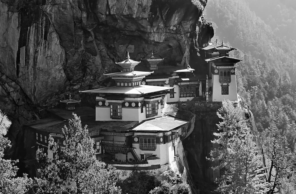 Tigers Nest monastery in Taktsang Dzong, Bhutan.