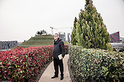Milan, Portello gardens , the urban architect Andreas Kipar