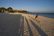 Ishigaki-jima. Club Med Kabira. The beach at sunrise.