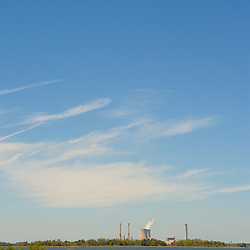 Nuclear power plant. Crystal River, Florida.