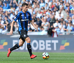 May 6, 2018 - Rome, Italy - Remo Freuler during the Italian Serie A football match between S.S. Lazio and Atalanta at the Olympic Stadium in Rome, on may 06, 2018. (Credit Image: © Silvia Lore/NurPhoto via ZUMA Press)