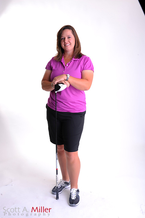Laura Bavaird during a portrait shoot prior to the Symetra Tour's Florida's Natural Charity Classic at the Lake Region Yacht and Country Club on March 20, 2012 in Winter Haven, Fla. ..©2012 Scott A. Miller.