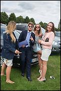 EMMA GOLDSMITH-SMITH; MUNGO FAWCETT; LADY ELIZA MANNERS; CHARLOTTE CLARKE, Ebor Festival, York Races, 20 August 2014