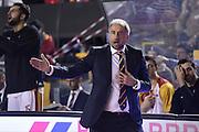 Fabio Corbani<br /> Unicusano Roma - Angelico Biella<br /> Campionato Basket LNP 2016/2017<br /> Roma 29/01/2017<br /> Foto Ciamillo-Castoria
