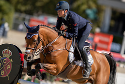 De Luca Lorenzo, ITA, Evita van't Zoggehof<br /> Longines FEI Jumping Nations Cup™ Final<br /> Barcelona 20128<br /> © Hippo Foto - Dirk Caremans<br /> 05/10/2018
