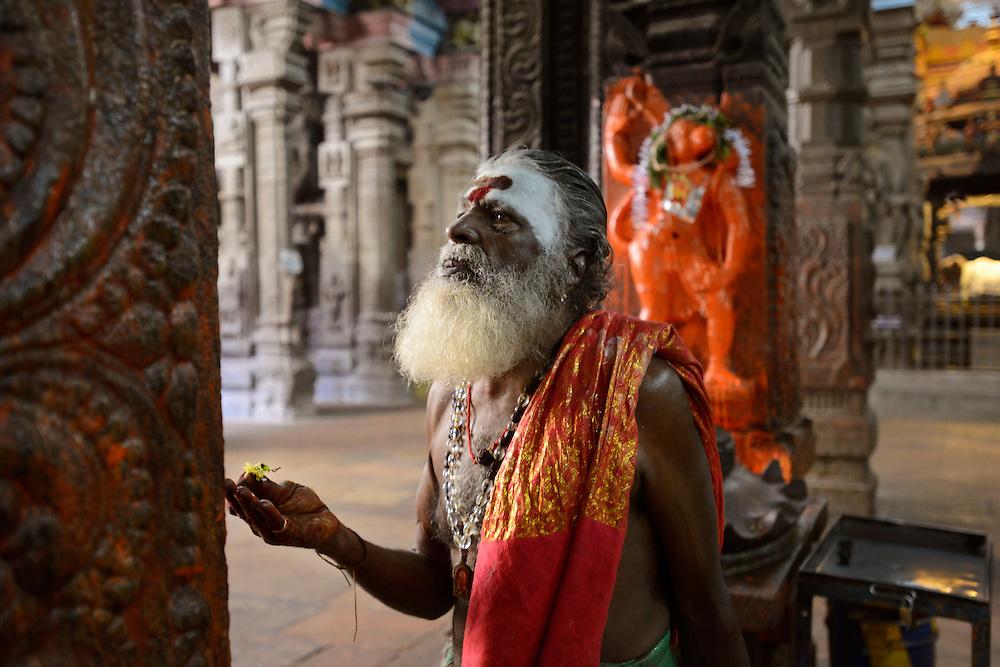 Sri Meenakshi Hindu Temple. Maderai, Tamil Nadu, India