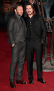Dec 3, 2014 - Exodus: Gods And Kings World Premiere - VIP Red Carpet Arrivals at Odeon,  Leicester Square, London<br /> <br /> Pictured: Joel Edgerton and Christian Bale<br /> ©Exclusivepix Media