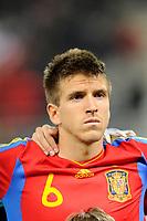 FOOTBALL - UNDER 21 - FRIENDLY GAME - FRANCE v SPAIN - 24/03/2011 - PHOTO GUILLAUME RAMON / DPPI - IGNACIO CAMACHO (SPA)