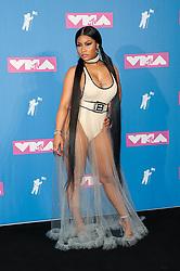 August 21, 2018 - New York City, New York, USA - 8/20/18.Nicki Minaj at the 2018 MTV Video Music Awards at Radio City Music Hall in New York City. (Credit Image: © Starmax/Newscom via ZUMA Press)