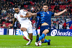 Callum Wilson of England shoots at goal - Mandatory by-line: Robbie Stephenson/JMP - 15/11/2018 - FOOTBALL - Wembley Stadium - London, England - England v United States of America - International Friendly