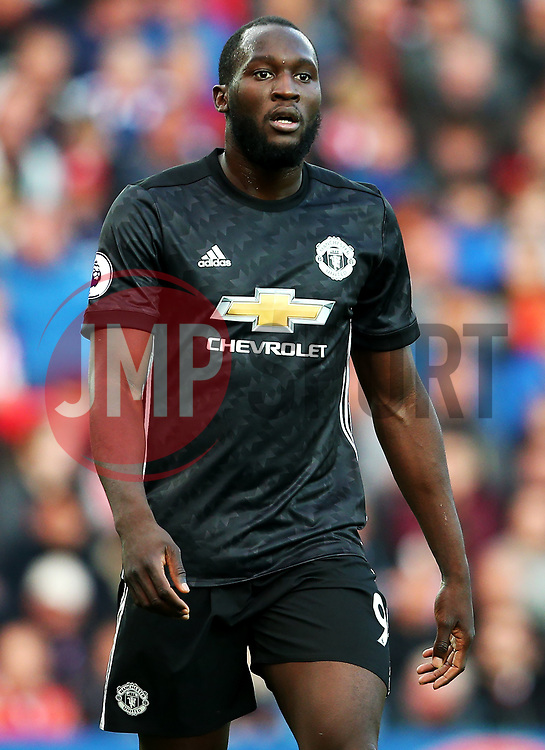 Romelu Lukaku of Manchester United - Mandatory by-line: Matt McNulty/JMP - 09/09/2017 - FOOTBALL - Bet365 Stadium - Stoke-on-Trent, England - Stoke City v Manchester United - Premier League
