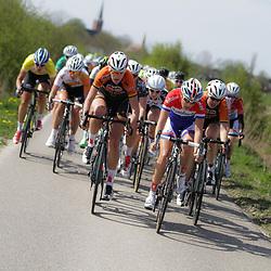 UITHUIZEN wielrennen, De vierde etappe van de Energiewachttour 2014 werd verreden rond Uithuizen.