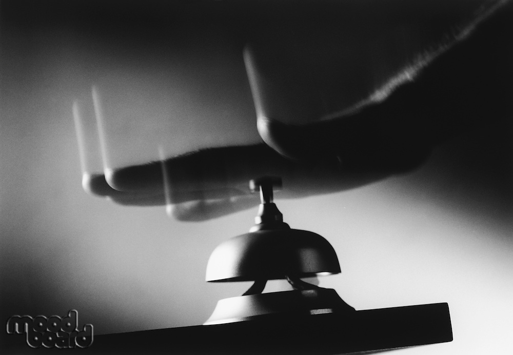 Hand Hitting Service Bell