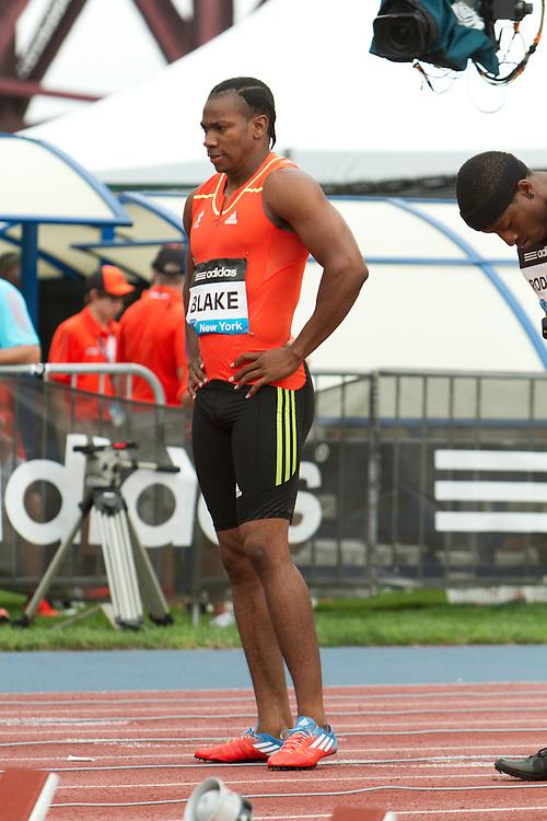 Samsung Diamond League adidas Grand Prix track & field; 100 meters, Yohan Blake, Jamaica, at start