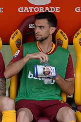 October 20, 2018 - Rome, Lazio, Italy - Javier Pastore during the Italian Serie A football match between A.S. Roma and Spal at the Olympic Stadium in Rome, on october 20, 2018. (Credit Image: © Silvia Lore/NurPhoto via ZUMA Press)