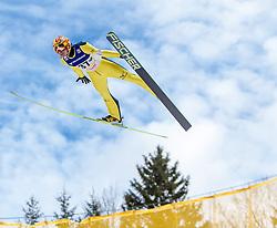 11.01.2014, Kulm, Bad Mitterndorf, AUT, FIS Ski Flug Weltcup, Bewerb, im Bild Noriaki Kasai (JPN) // Noriaki Kasai (JPN) during the FIS Ski Flying World Cup at the Kulm, Bad Mitterndorf, Austria on <br /> 2014/01/11, EXPA Pictures © 2014, PhotoCredit: EXPA/ JFK