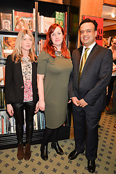 at a party to celebrate the publication of How I Met My Son by Ros Powell held at Hatchards, 187 Piccadilly, London on 11th February 2016.