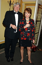 MR GEOFFREY ROBERTSON QC and his wife, writer KATHY LETTE at the Dyslexia Awards Dinner attended by HRH The Countess of Wessex held at The Dorchester Hotel, Park Lane, London on 9th November 2005.<br />