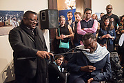 DAVID A BAILEY, ISAAC JULIEN; YINKA SHONIBARE Diaspora Pavilion LAUNCH  Palazzo Pisani and Santa Marina. Venice Biennale, 11 May 2017