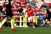 Swindon Town winger Lloyd Isgrove during the EFL Sky Bet League 2 match between Swindon Town and Macclesfield Town at the County Ground, Swindon, England on 14 September 2019.