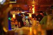 UK, Northern Ireland, County Londonderry, Portstewart Interior of a pub
