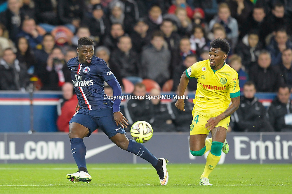 Serge Aurier - 06.12.2014 - PSG / Nantes - 17eme journee de Ligue 1<br />