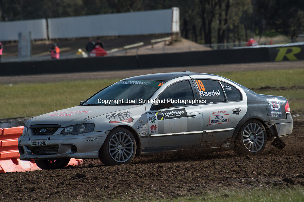 Kevin Raedel - Ford Falcon BA - Rallycross Australia - Winton Raceway - 16th July 2017