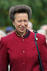 © Licensed to London News Pictures. 4 October 2013. Didcot Oxfordshire. Princess Anne awarded campaign medals to 11 EOD Bomb Disposal regiment today in Didcot Oxfordshire. Photo credit : MarkHemsworth/LNP