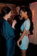 EILIDH MACASKILL; THANDIE NEWTON, InStyle's Best Of British Talent Party in association with Lancome. Shoreditch HouseLondon. 25 January 2011, -DO NOT ARCHIVE-© Copyright Photograph by Dafydd Jones. 248 Clapham Rd. London SW9 0PZ. Tel 0207 820 0771. www.dafjones.com.