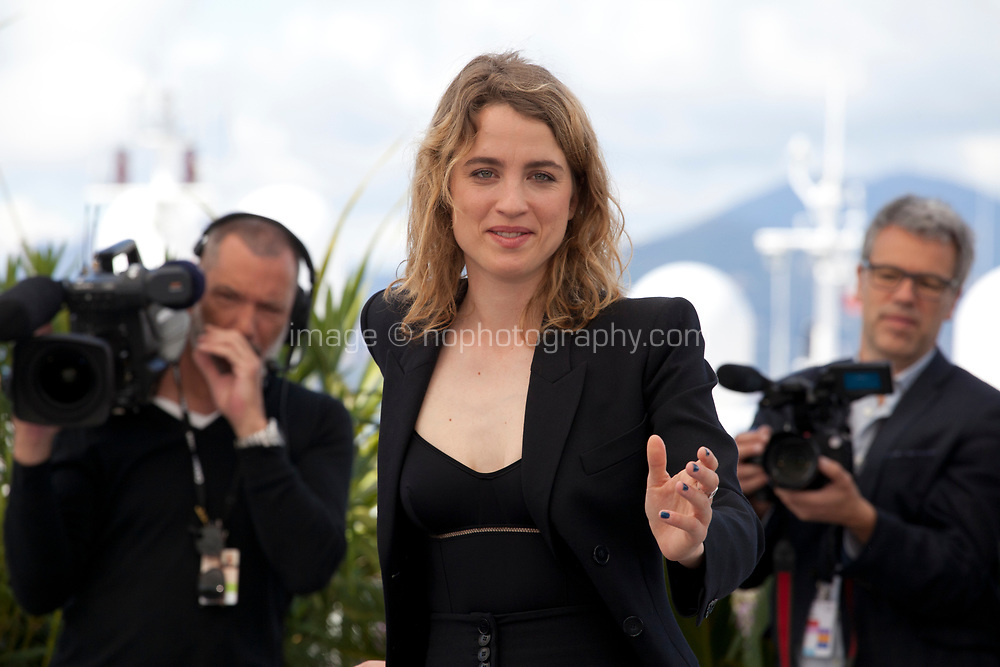 Actress Adèle Haenel at the Portrait of a Lady on Fire (Portrait De La Jeune Fille En Feu) photocall, at the 72nd Cannes Film Festival Monday 20th May 2019, Cannes, France. Photo credit: Doreen Kennedy