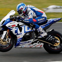 MCE BRITISH SUPERBIKE CHAMPIONSHIP Round Four Knockhill.. Josh Brookes in the first race of the day at Knockhill in the BSB championship i....(c) STEPHEN LAWSON | StockPix.eu