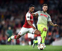 Theo Walcott of Arsenal attempts a shot at goal - Mandatory by-line: Patrick Khachfe/JMP - 14/09/2017 - FOOTBALL - Emirates Stadium - London, England - Arsenal v Cologne - UEFA Europa League Group stage
