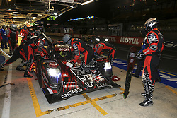 June 17, 2018 - Le Mans, France - 3 REBELLION RACING (CHE) REBELLION R13 GIBSON LMP1 MATHIAS BECHE (CHE) THOMAS LAURENT (FRA) GUSTAVO MENEZES  (Credit Image: © Panoramic via ZUMA Press)