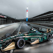 April 07, 2015: IndyCar Series - CFH Racing photoshoot at Indianapolis Motor Speedway in Indianapolis, IN